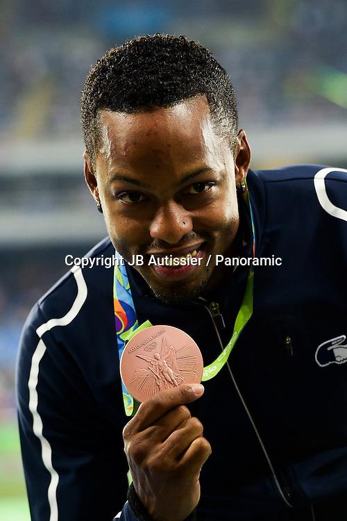BASCOU Dimitri (fra) - medaille de bronze - podium 110m haies