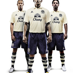 100917 Everton FC Third Kit Launch