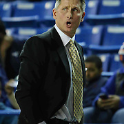 Sioux Falls Skyforce Head Coach Pat Delany seen walking the sideline in the second half of a NBA D-league regular season basketball game between the Delaware 87ers (76ers) and the Sioux Falls Skyforce (Miami Heat) Tuesday, Dec. 2, 2014 at The Bob Carpenter Sports Convocation Center in Newark, DEL