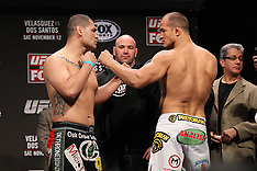 November 11, 2011: UFC on FOX Weigh-In's