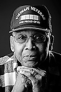 Name: Dr. Rufus Taylor Jr. .Branch: Army.Period of Service: 1962-1981.Highest Rank: E-7.Combat Tours: Vietnam.Occupation: Dining Facility Manager..Veterans Portrait Project: Durham Edition.Durham VA, North Carolina. (Photos by Stacy L. Pearsall)