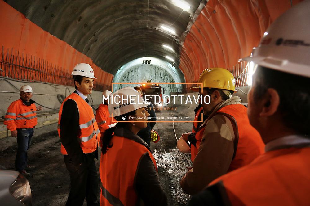 Febbraio 2016: Prima visita nei cantieri del Terzo Valico per il neo commissario Iolanda Romano