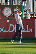 19.01.2013 Abu Dhabi, United Arab Emirates.  Steve Webster in action during the European Tour HSBC Golf championship  third round from the Abu Dhabi Golf Club.