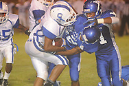 Water Valley's Jonathan Kent (12) vs. Senatobia in Water Valley, Miss. on Monday, September 23, 2013. Water Valley won 45-7 to improve to 5-0.