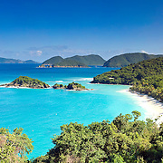 Beaches of St John / US Virgin Islands / United States