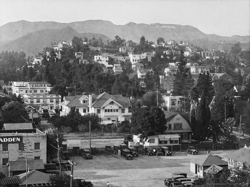 Hollywoodland, Los Angeles, California, USA, 1926