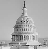 Photograph of the United States Capitol Building dome in Washington, DC. Print Size (in inches): 10x10, 15x15.5; 24x24.5, 36x37, 48x50, 60x62