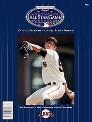 Tim Lincecum, All-Star Game Program, 2008