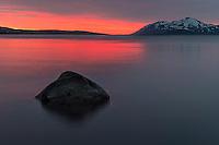 Eyjafjörður near Akureyri. Hjalteyri in the background.