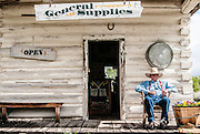 The old general store in Teton Valley is still open for business. Grand Tetons National Park, Wyoming.