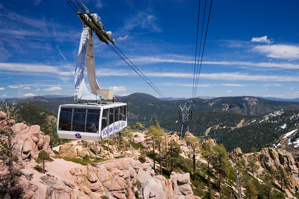 Squaw Valley Cable Car Greg Vaughn Photography
