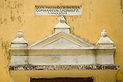 Portal of Dutch Church at Vaddukodai.<br /> Dutch Architecture. Jaffna.