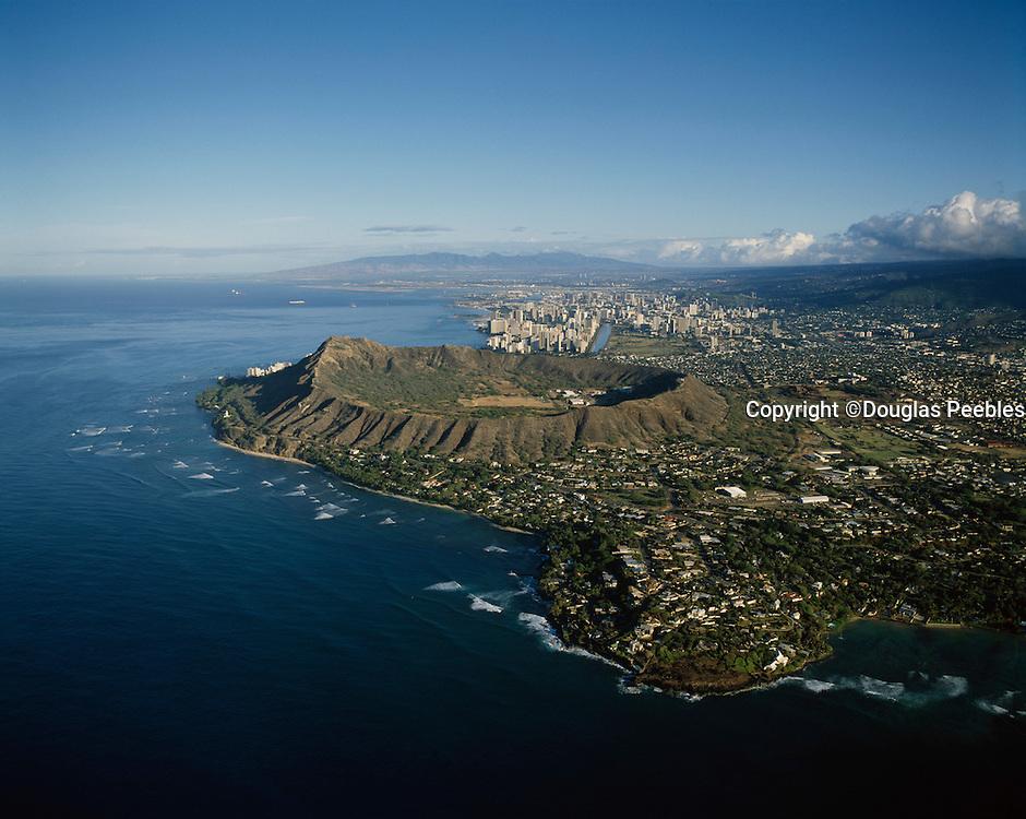 Diamond Head, Waikiki; Oahu; Hawaii