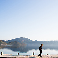 The jetty in front of Sardunya restaurant, Selimiye