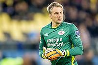 ARNHEM - Vitesse - PSV , Voetbal , Eredivisie , Seizoen 2016/2017 , Gelredome , 29-10-2016 ,  PSV keeper Remko Pasveer wederom in het goal