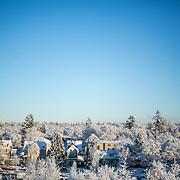 Campus snow Dec. 16. (Photo by Matt Weigand)