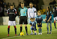 Martyn Fotheringham and his kids prior to kick off - Forfar Athletic v Dundee, Martyn Fotheringham testimonial at Station Park, Forfar.Photo: David Young<br /> <br />  - &copy; David Young - www.davidyoungphoto.co.uk - email: davidyoungphoto@gmail.com