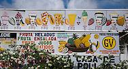 Casa de los Emparedados, artista Julian, Panama City.<br /> &copy;Victoria Murillo/Istmophoto.com