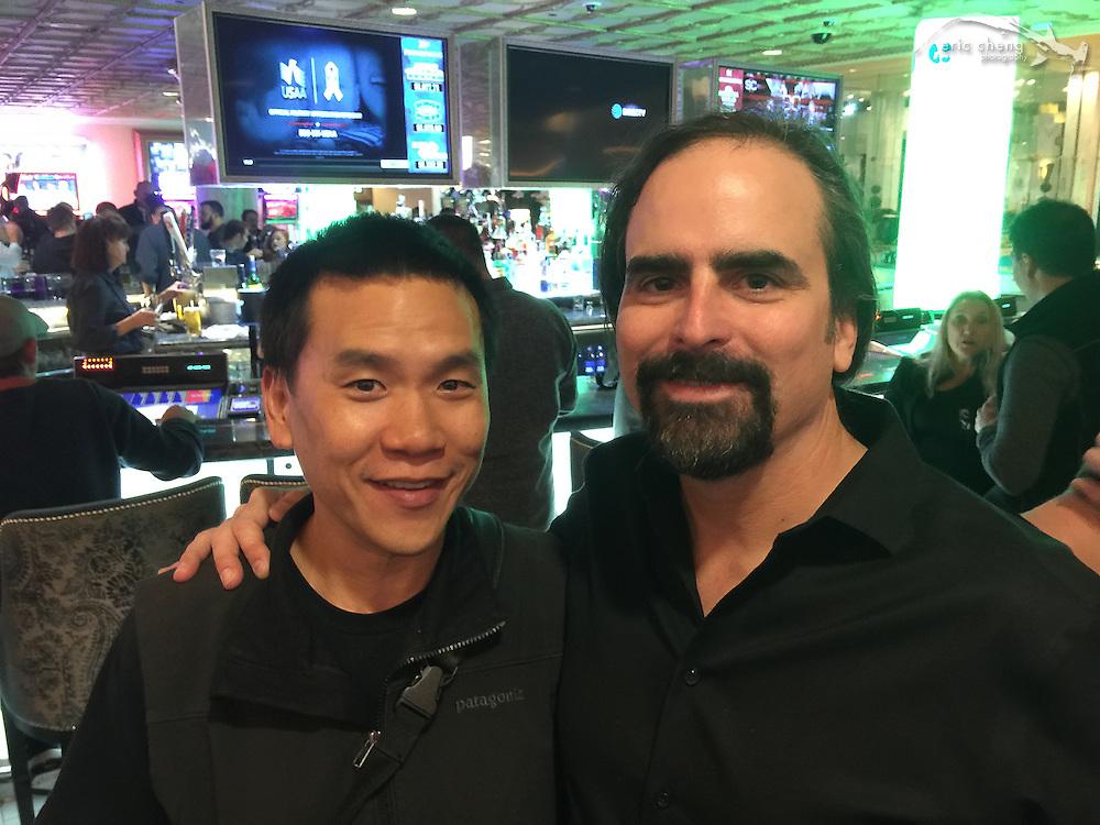Eric Cheng and Berkley White (DEMA 2016, Las Vegas)