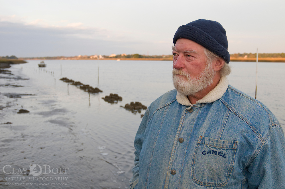 Local Fisherman like Capt. Jim Yergin depend on healthy oyster reefs to protect marine species. Approximately 130 species use the reefs for protection.