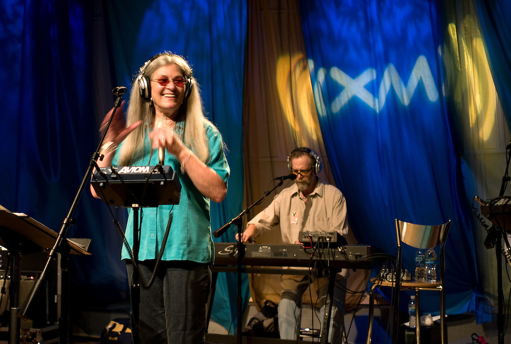 Donna Jean and the Tricksters in XM Radio's Perf 1, Washington, DC