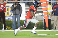 Ole Miss' Philander Moore (22) returns a kickoff vs. LSU at Vaught-Hemingway Stadium in Oxford, Miss. on Saturday, November 19, 2011..