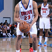 Grand Rapids Drive Guard Manny Atkins (23) attempts a free throw in second half of a NBA D-league regular season basketball game between the Delaware 87ers and the Grand Rapids Drive (Detroit Pistons) Saturday, Apr. 04, 2015 at The Bob Carpenter Sports Convocation Center in Newark, DEL.
