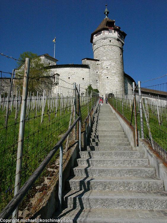 """Old fortress """"Munot"""", Schaffhausen, Switzerland"""