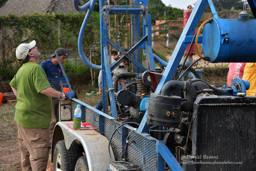Water well drilling in Bolivia with Agua Yaku