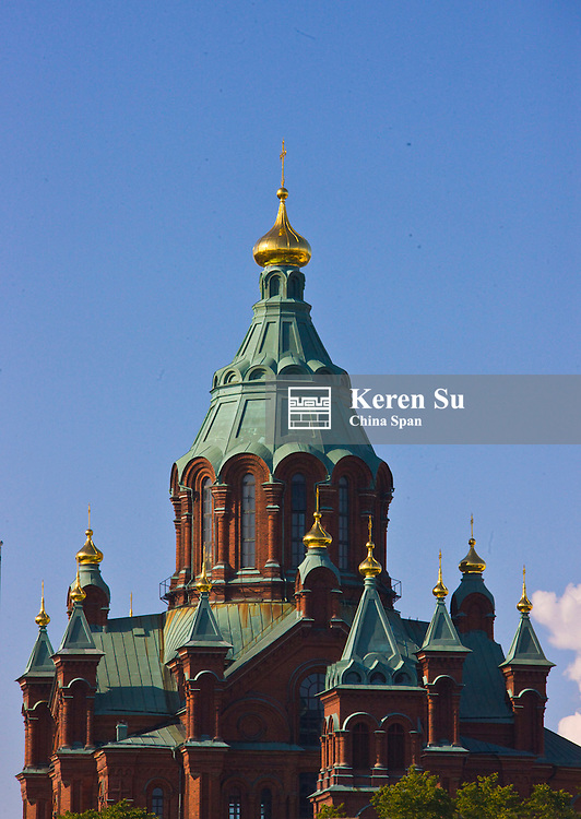 Uspenski Orthodox Cathedral, Helsinki, Finland