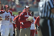 Ole Miss vs. Arkansas Head Coach Bobby Petrino at Vaught-Hemingway Stadium in Oxford, Miss. on Saturday, October 22, 2011. .
