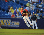 Ole Miss' Zach Miller vs. Auburn during the Southeastern Conference tournament at Regions Park in Hoover, Ala. on Friday, May 28, 2010.