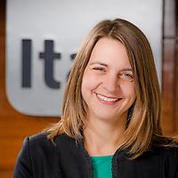 Anne Kathrin Müller, Subgerente de Sustentabilidad, Banco Itaú. Santiago de Chile. 25-03-2014 (Alvaro de la Fuente/Triple.cl)