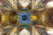 Church of the spilt blood St. Petersburg, Russia