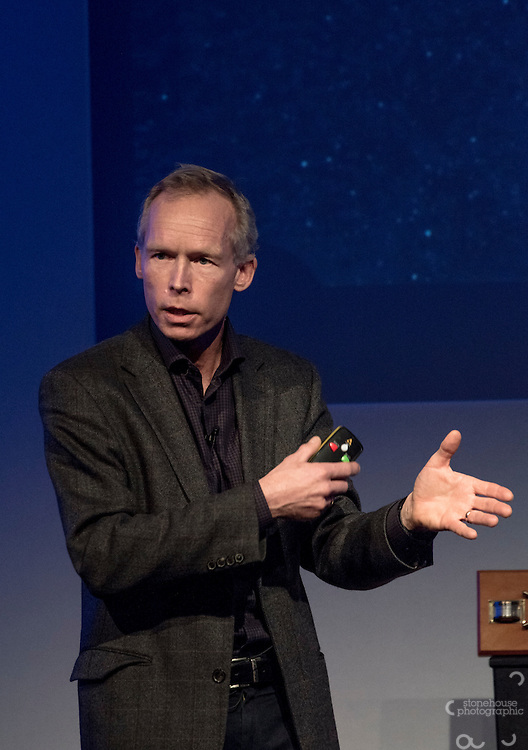 Johan Rockstrom at the Inaugural WWF Living Planet Lecture at The Royal Society, London. 3/11/2016