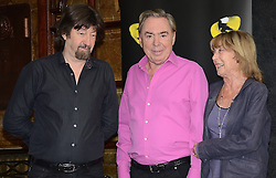 Trevor Nunn, Sir Andrew Lloyd Webber and Gillian Lynne attend Cats Photocall at The London Palladium, Argyll Street, London on Monday 7 July 2014