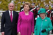The Queen visits Aras an Uachtarain, Her Majesty Queen Elizabeth II visited Ireland.