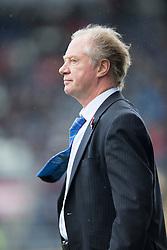 Cowdenbeath's manager Jimmy Nicholl.<br /> Falkirk 6 v 0 Cowdenbeath, Scottish Championship game played at The Falkirk Stadium, 25/10/2014.