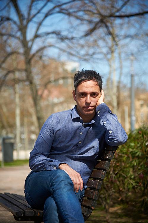 Lisboa, 12/03/2016 - Hugo Vieira da Silva, cineasta que apresentou no Festival de Cinema de Berlim- Berlinale  o seu filme &quot;Posto Avan&ccedil;ado de Progresso&quot;, prestes a estrear em Lisboa<br /> (Paulo Alexandrino / Global Imagens)