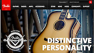 Client: Fender Guitar. Advertising for Fender Guitar Acoustic Custom Shop. (Photo by Robert Falcetti)