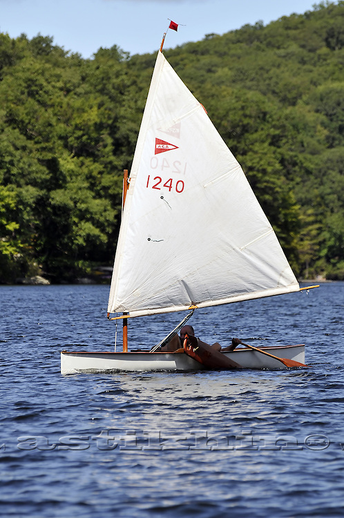 The winer of Canoe Sailing at Lake Sebago