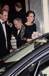HRH Catherine, Duchess Of Cambridge attends The Royal Variety Show at The London Palladium, Argyll Street, London on Thursday 13th November 2014