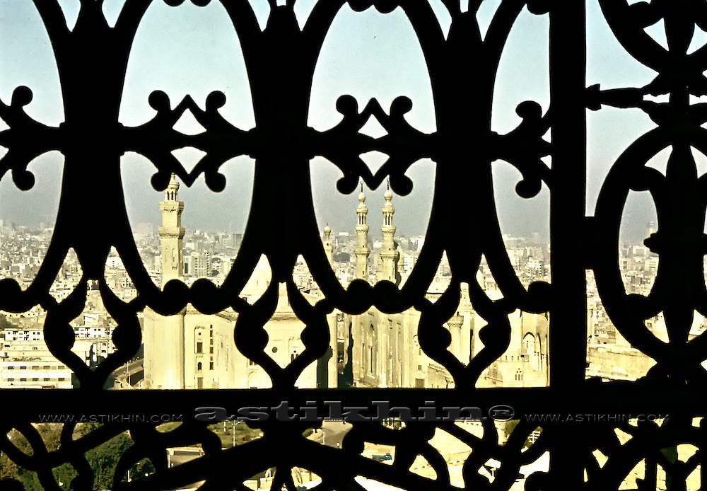 Cairo from Mosque of Muhammad Ali.
