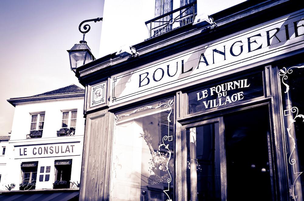 Russ bishop photography for Restaurant le miroir montmartre