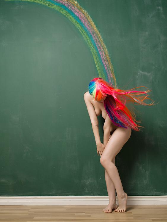 Published in Emboss Magazine online, April 2016; Model: Dorrie Mack