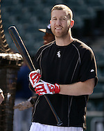 CHICAGO - JUNE 29:  Todd Frazier #21 of the Chicago White Sox looks on during batting practice prior to the game against the Minnesota Twins on June 29, 2016 at U.S. Cellular Field in Chicago, Illinois.  (Photo by Ron Vesely) Subject:    Todd Frazier