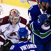 Colorado Avalanche vs Vancouver Canucks March 16, 2016