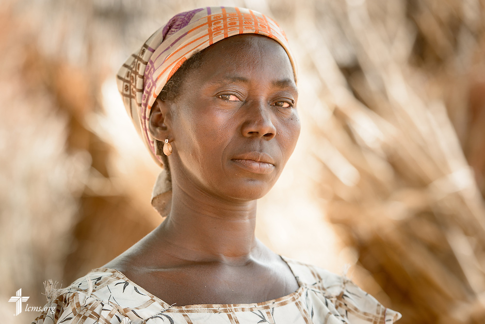 A portrait of Lamboni Saalalipak on Tuesday, Feb. 14, 2017, at a rural village home in Sankpong, Togo. LCMS Communications/Erik M. Lunsford