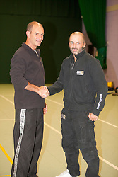 Krav Maga Global insructors at the Sunday session of Krav Maga Global Instructors Further Education & Training - October 2012, hosted by Eyal Yanilov, the Chief Instructor of Krav Maga Global. .©Michael Schofield.