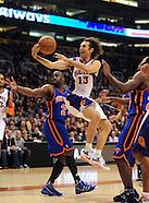 NBA: New York Knicks vs Phoenix Suns//20110107